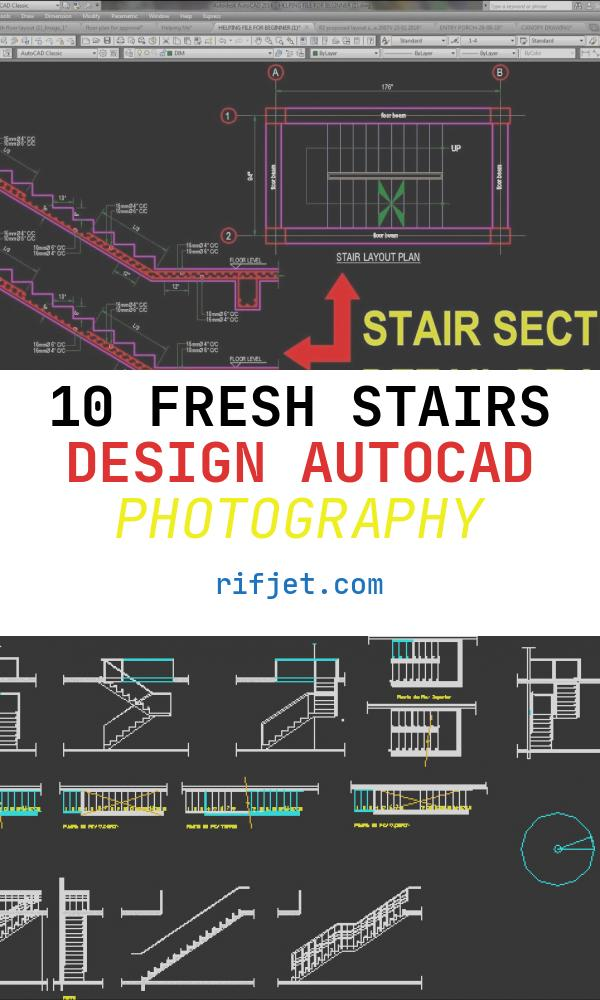 Stairs Design Autocad Luxury How to Draw Stair Detail In Autocad