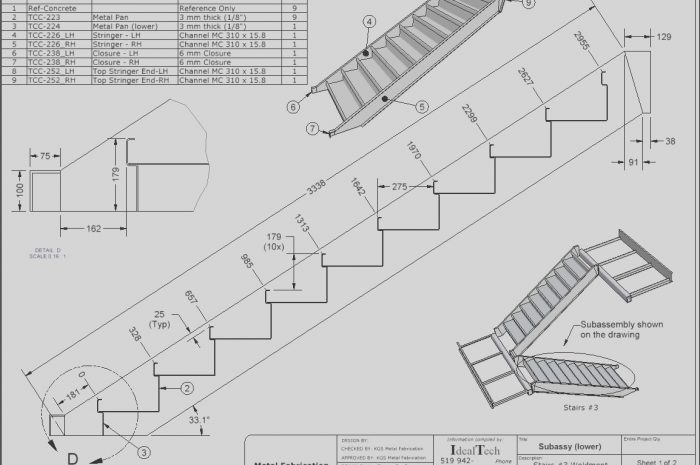 8 Various Stairs Design Drawing Photography