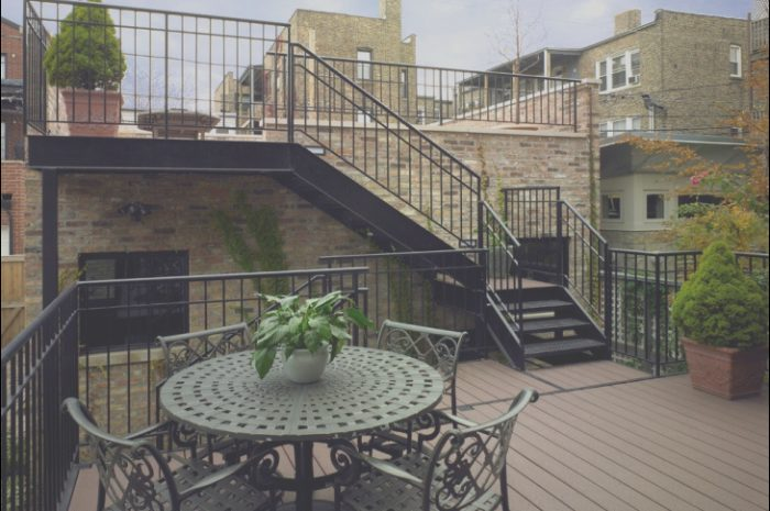 8 Charming Stairs Design to Rooftop Photos