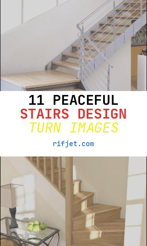 Stairs Design Turn Awesome Quarter Turn Staircase Metal Frame Wooden Steps