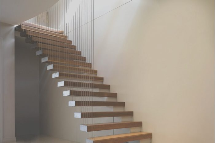 8 Amusing Stairs Designs Cantilever Image