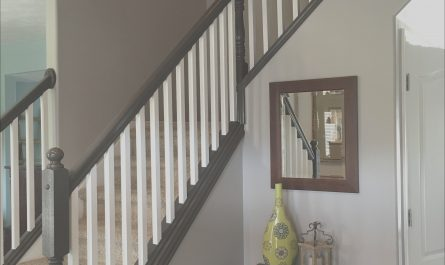 Stairs Fence Indoor Best Of Painting and Staining Our Stair Railing Part 3 Done In