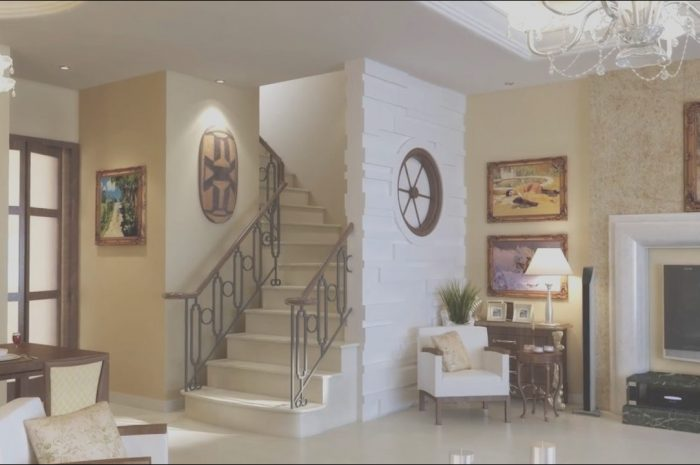 11 Minimalist Stairs In Living Room Decor Ideas Photos