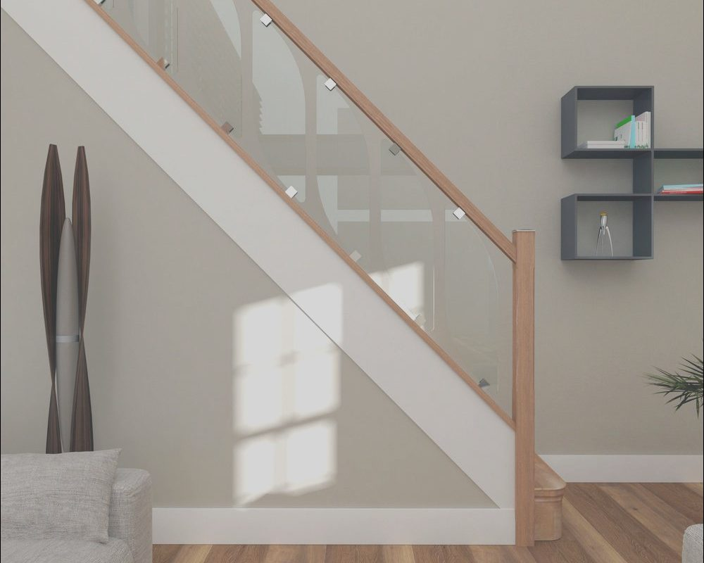 Stairs Indoor Glass Awesome Details About Glass Staircase Parts Glass Panels In 2019