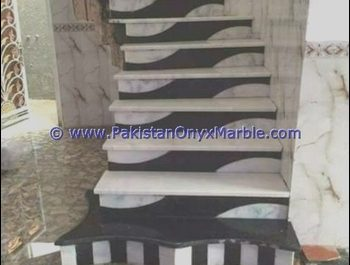 Stairs Marble Design In Pakistan Beautiful Luxurious Decorative Marble Stairs Steps Risers Jet Black