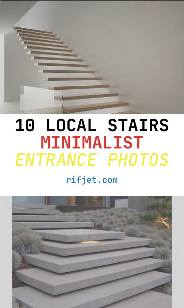 10 Local Stairs Minimalist Entrance Photos