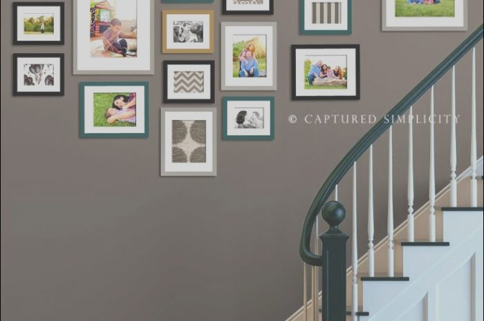10 Creative Stairs Picture Wall Ideas Photos