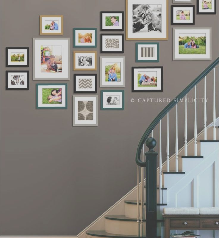 Stairs Picture Wall Ideas Awesome 50 Creative Staircase Wall Decorating Ideas Art Frames