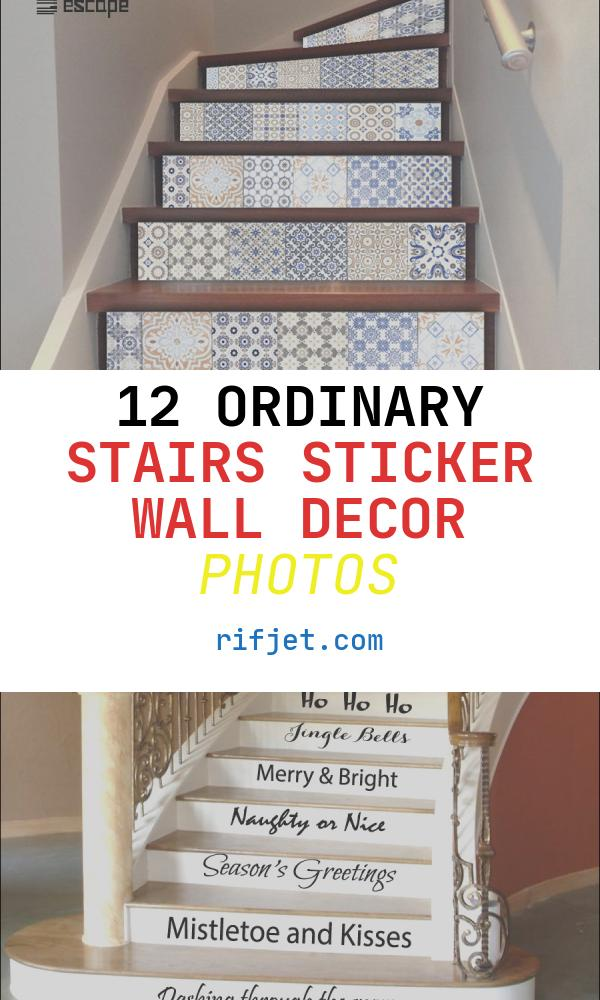 Stairs Sticker Wall Decor Luxury 6pcs Wall Stickers Stairs Decal Home Decor Diy Steps