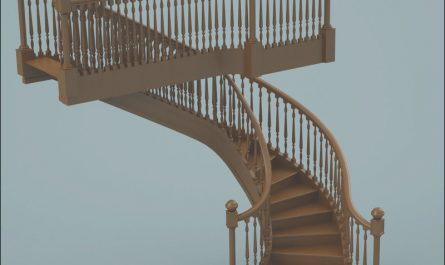 Stairs Wooden Model Fresh 3d Wooden Staircase Stair Model