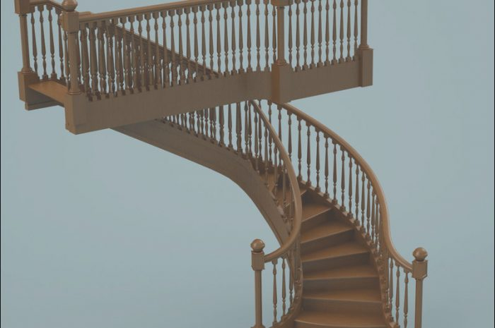 15 Wondeful Stairs Wooden Model Photos