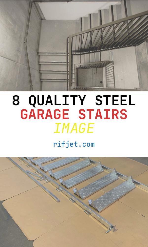 8 Quality Steel Garage Stairs Image