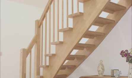 Timber Stairs Decor Best Of Gorgeous Unfinished Pine Wood Open Staircase with White