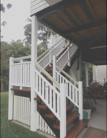 8 Minimalist Timber Stairs Queenslander Photos