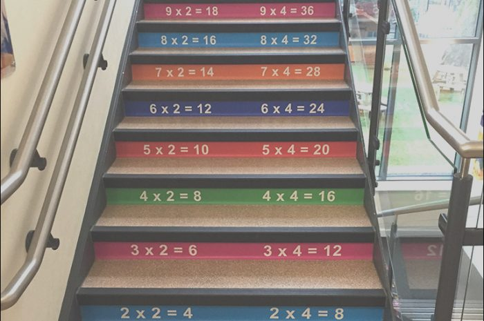 12 Loveable Times Table Stickers for Stairs Photos