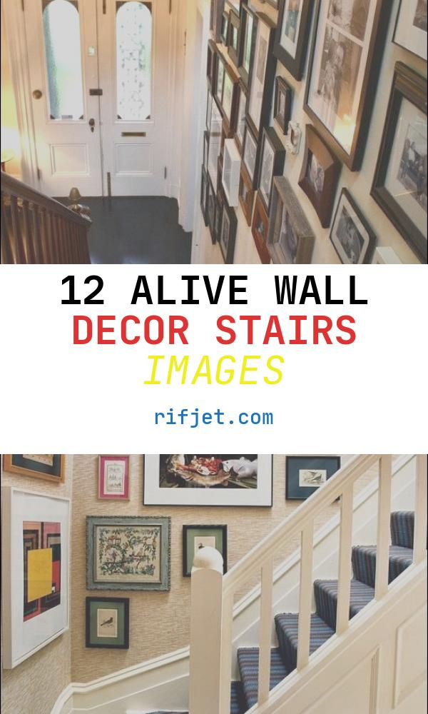 Wall Decor Stairs Beautiful 50 Creative Staircase Wall Decorating Ideas Art Frames