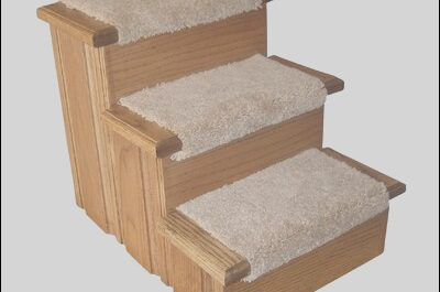 Wayfair Pet Stairs Elegant Raised Panel 3 Step Pet Stair