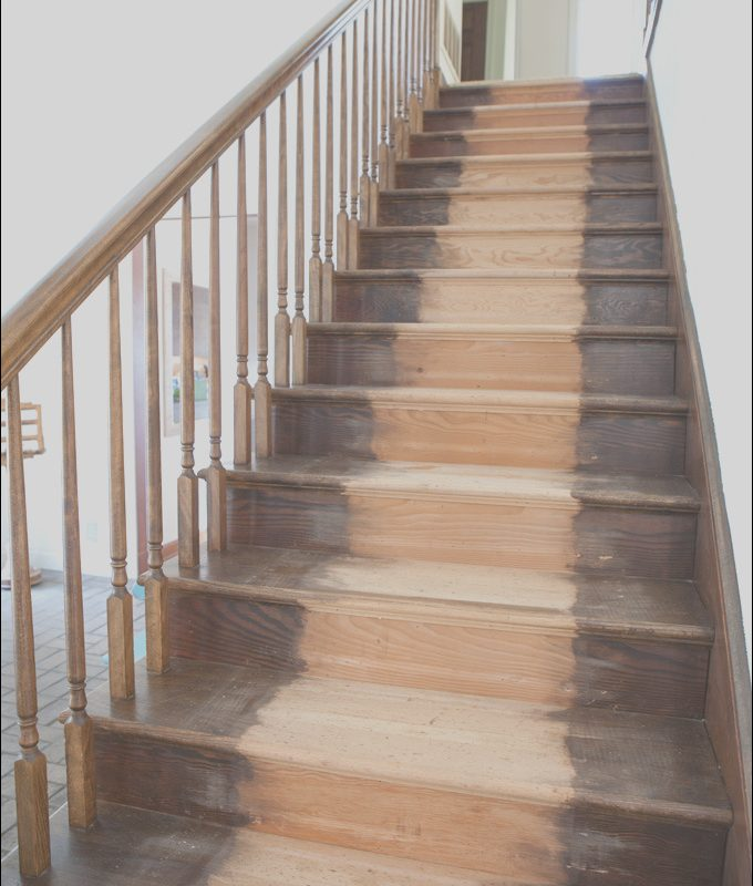 Wood Stained Stairs Elegant Painting Staircase Balusters without Losing Your Mind In