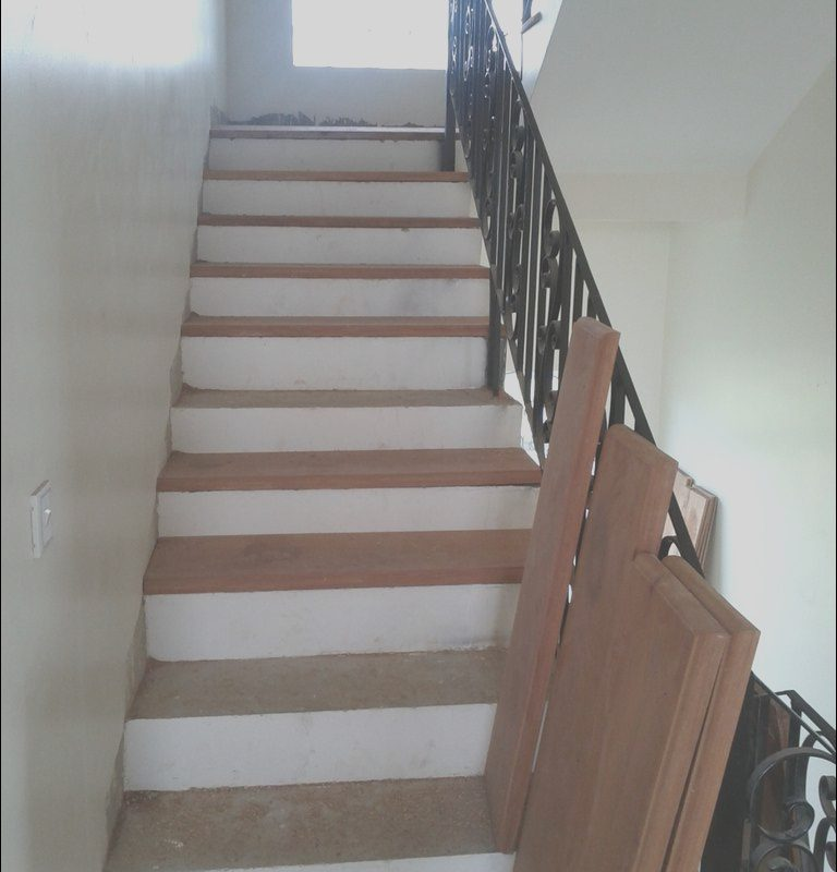 Wooden Stairs Materials Elegant Adding Wood Treads to Existing Concrete Stairs Indoor