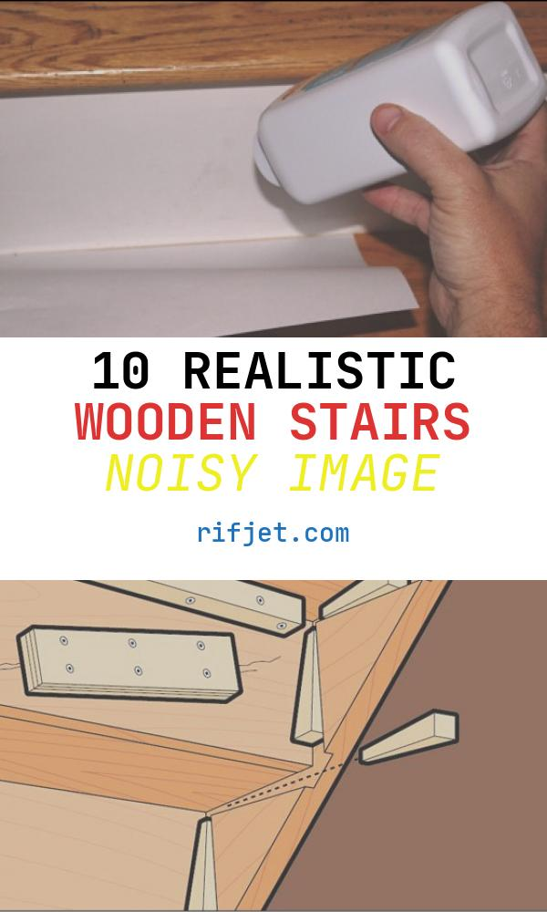 10 Realistic Wooden Stairs Noisy Image
