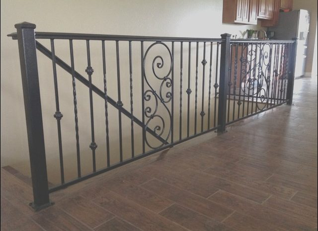 14 attractive Wrought Iron Railings for Stairs Interior Photos