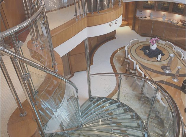10 Amusing Yacht Interior Stairs Collection