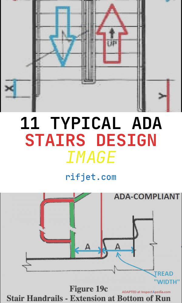 11 Typical Ada Stairs Design Image