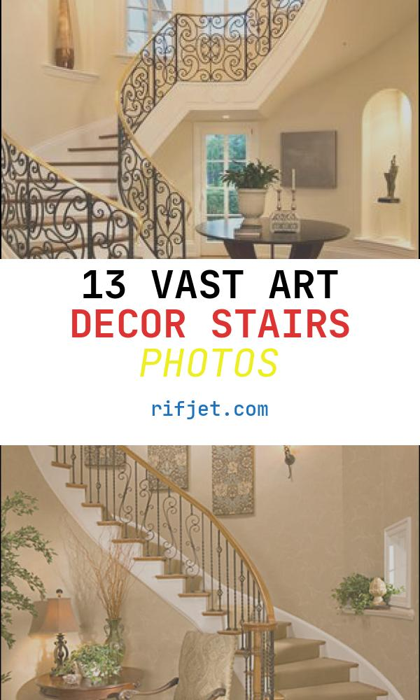 13 Vast Art Decor Stairs Photos