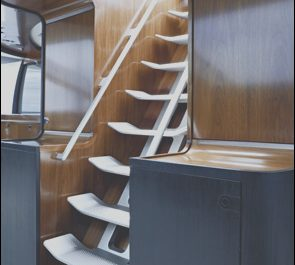 Boat Stairs Interior Inspirational Yacht Interior Stairs Take Up Less Room