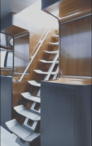 8 Exotic Boat Stairs Interior Photos