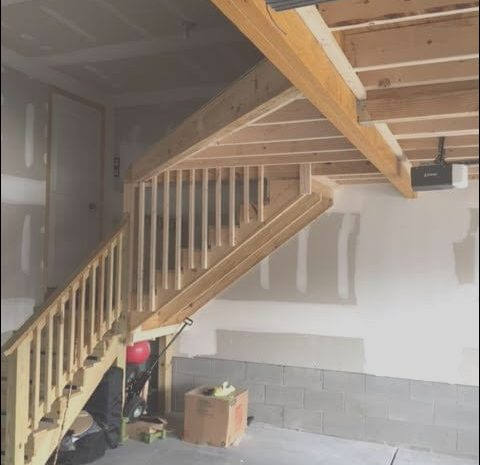 8 Fantastic Building Stairs Garage Loft Image