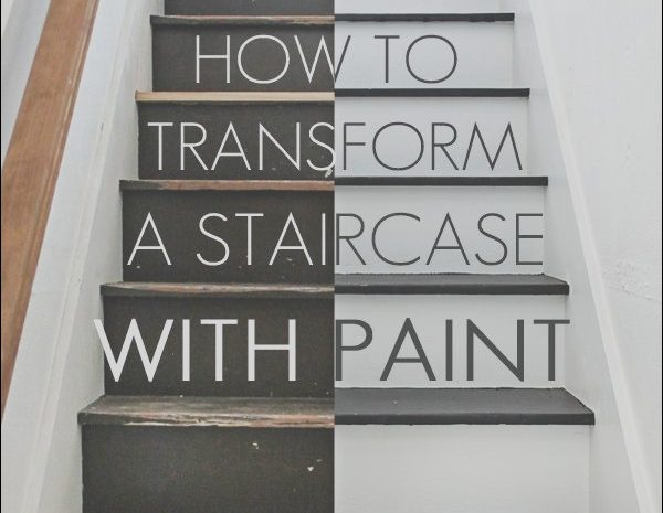 14 Authentic Can You Paint Wooden Stairs Photos