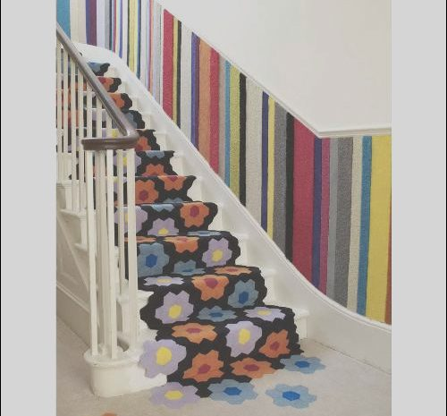 10 Practical Carpet Runners for Stairs Modern Image