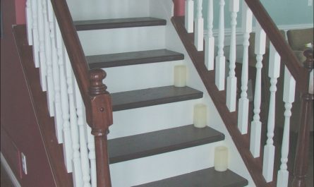 Carpet Treads for Wooden Stairs New Remodelaholic
