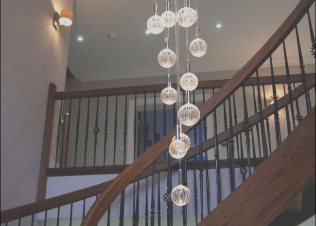 13 original Chandelier for Stairs Modern Image