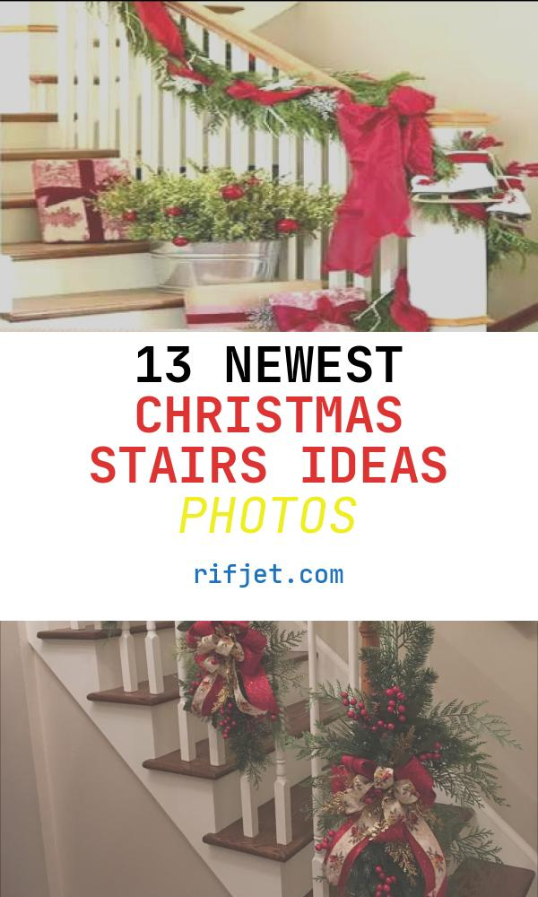 13 Newest Christmas Stairs Ideas Photos