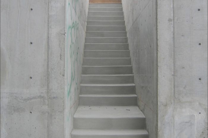 9 Practical Concrete Stairs Modern Images