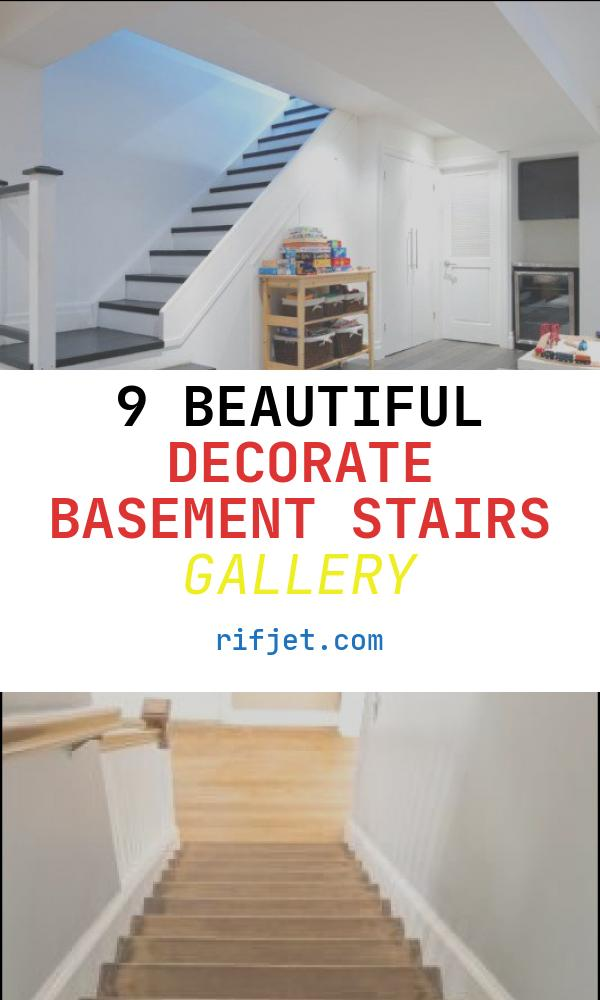 9 Beautiful Decorate Basement Stairs Gallery