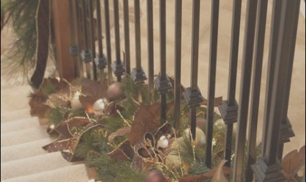 Decorating Stairs with Garland Best Of Holiday Decor Twist Garland at the Bottom Of Stair