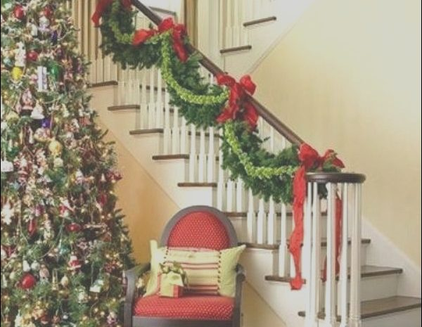 12 Modest Decorating Stairs with Photos Image