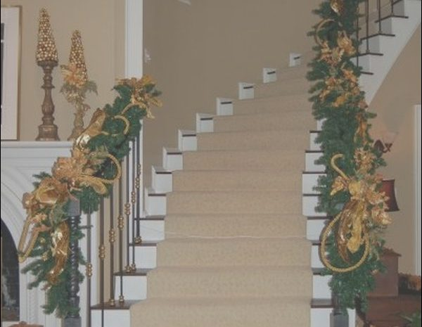 12 Delightful Decorating Your Stairs Photos