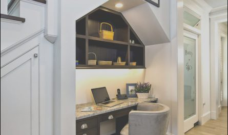 Desk Under Stairs Ideas Elegant Desk Under Stairs