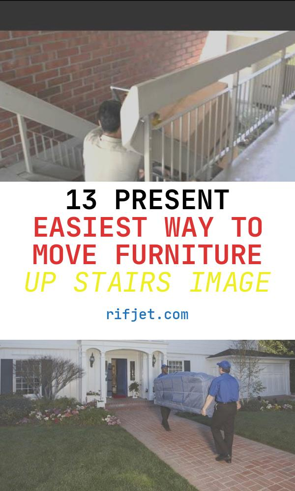 13 Present Easiest Way to Move Furniture Up Stairs Image