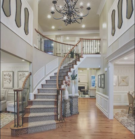 9 Staggering Foyer with Stairs Decor Photos