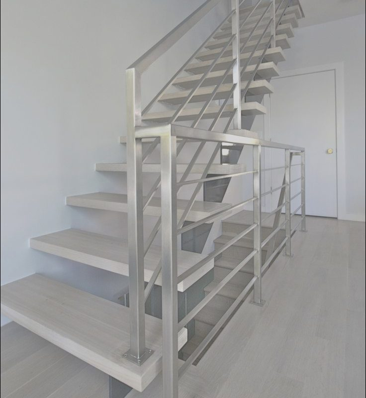 Furniture for top Of Stairs Best Of Modern Railings Custom Stairs Chicago Modern Staircase