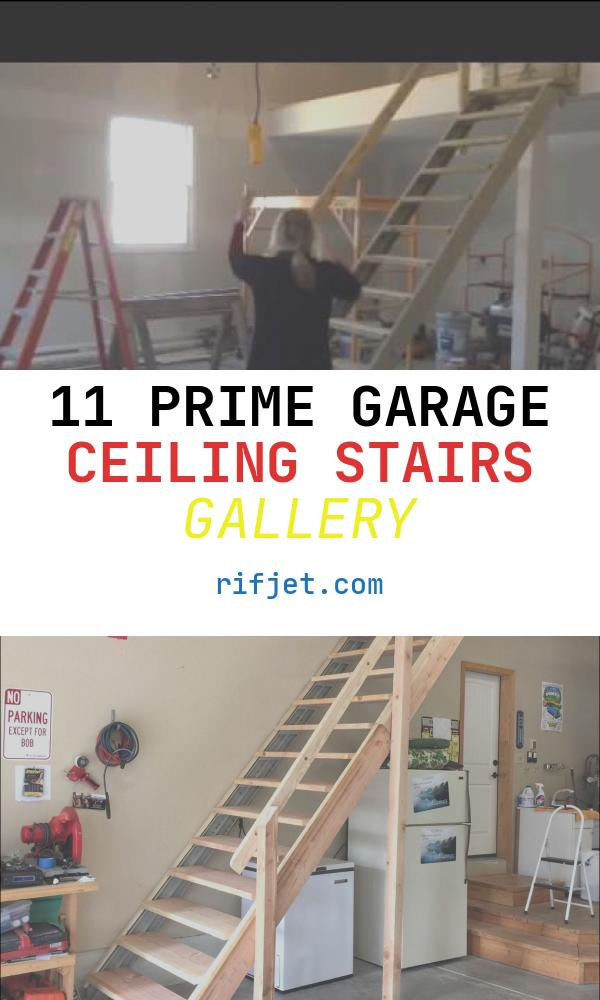 11 Prime Garage Ceiling Stairs Gallery