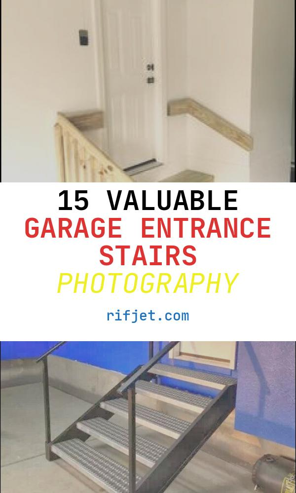 15 Valuable Garage Entrance Stairs Photography