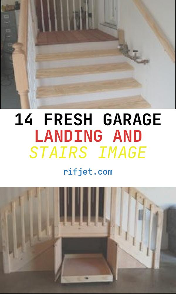 14 Fresh Garage Landing and Stairs Image
