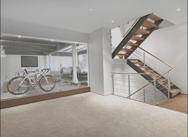 15 Useful Garage Stairs to Basement Stock