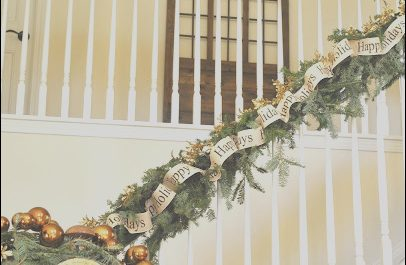 Ideas for Decorating Stairs at Christmas Inspirational sophia S Christmas Stairs and Entryway